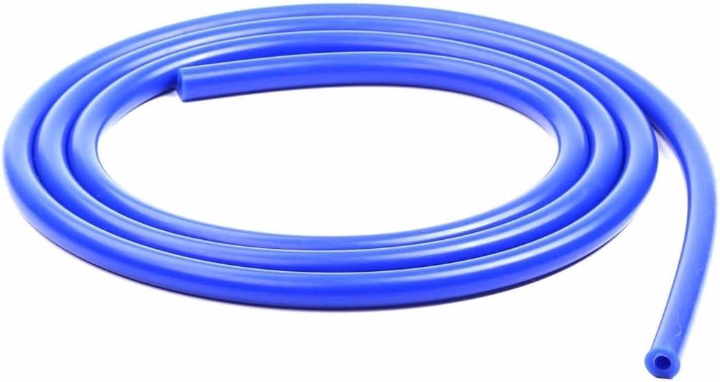 "3MM 1//8/"" Vacuum Silicone Hose 10 ft Black Air Racing Pipe//Line//Tube Universal"