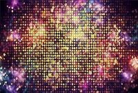 新しい7x5ftの豪華な記念日の背景の光の壁の輝きと花火の写真の背景誕生日パーティーカーニバルナイトキッズ大人演技ショーポートレート画像booth小道具デジタル壁紙