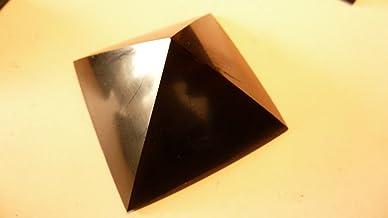 Pyramide de shungite 5 cm, avec certificat.