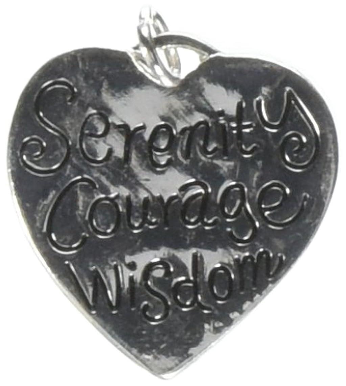 Jewelry Designer 1999-1438 Serenty Charm Ant.Silver 24X25Mm 1Pc