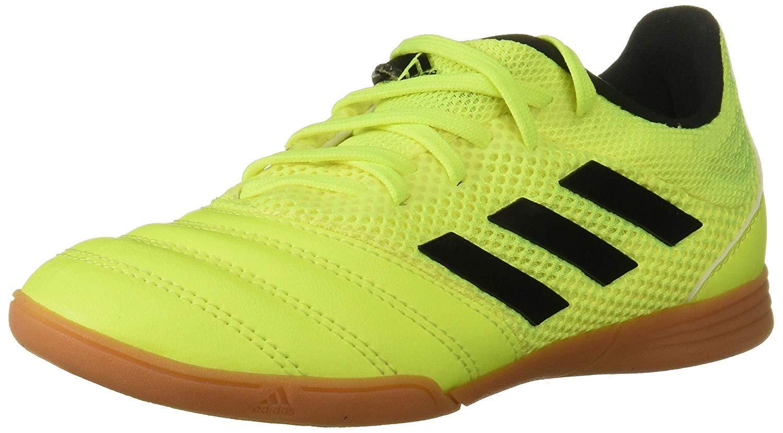 adidas Unisex Indoor Soccer Yellow