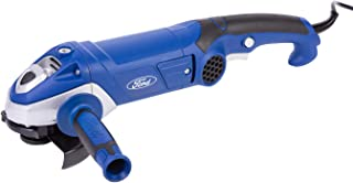 Ford 1200 Watts 125mm Small Angle Grinder - Paddle Switch, Corded Compact Electric 5 inch for Metal / Steel / Concrete / Tile Cutter, Power Tool For Cutting and Grinding Metal