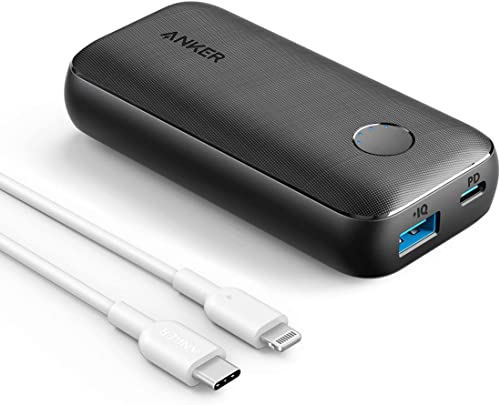 new arrival Anker USB C to Lightning Cable [6ft MFi outlet online sale Certified](White) & Anker outlet online sale PowerCore 10000 PD Redux,10000mAh Portable Charger USB-C Power Delivery (18W) online sale