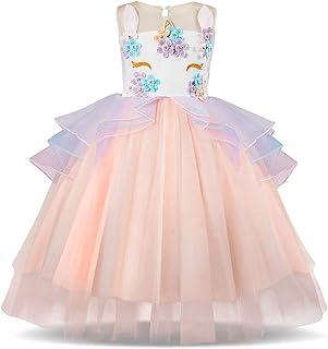 decf68bdd2d82 Amazon.fr   robe licorne - Fille   Vêtements