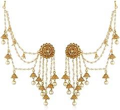 Sukkhi Wedding Jewellery Pearl Dangler Earrings for Women (Yellow) (E73494_D1)