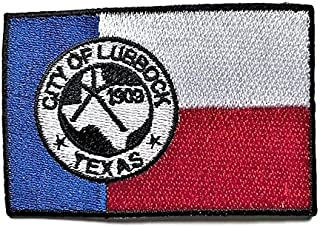 City of Lubbock Flag Patch/Cities of Texas Morale Patch Collection (LUB TX, 2