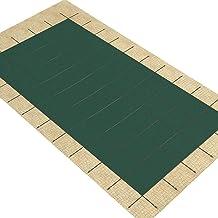 Cobertor Cubierta Fundas para Piscinas, Grande Malla Verde Cubierta de Seguridad para Piscina de Invierno para Piscina Enterrada, 1m / 2m / 3m / 4m / 5m / 6m / 7m / 8m / 10m, Los Accesorios de Instala