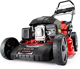 """BAUMR-AG 890SXe 21"""" 248cc Self-Propelled 4-Stroke 4in1 Petrol Steel Deck Lawnmower, with Push Button Electric Start"""