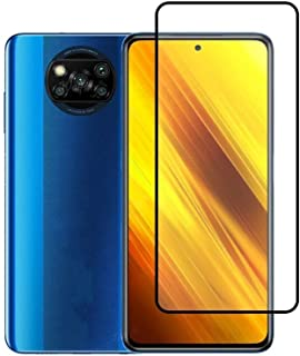 FanTing for Xiaomi Poco X3 NFC Screen Protector,[9H Hardness,Full Coverage,No bubbles and fingerprint],Scratch-resistant h...