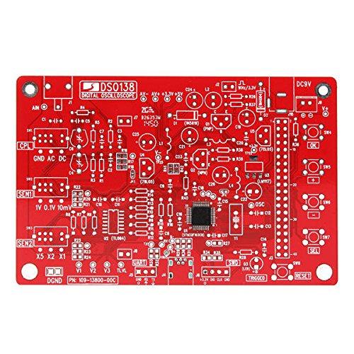 Condensadores Osciloscopio Digital Unassembled Kit SMD Soldado 13803K versión DIY