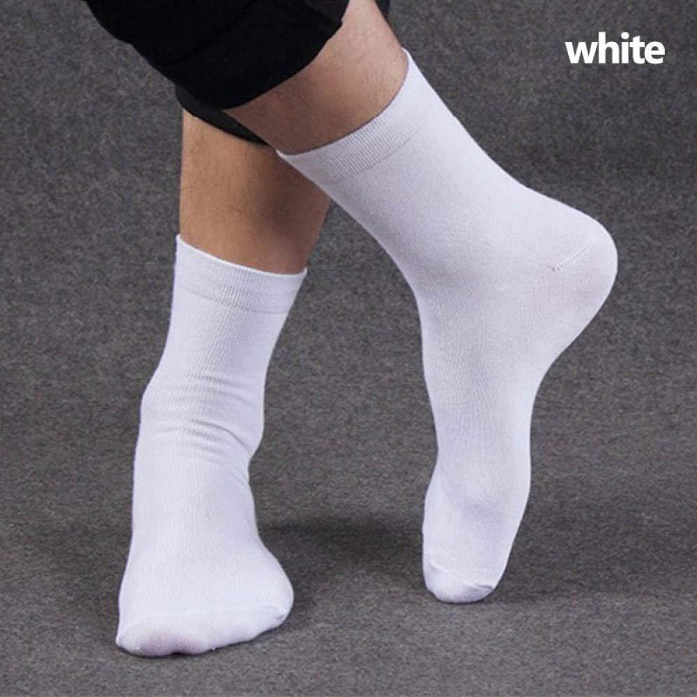 ODMKGE Calcetines Calcetines De Algodón De Invierno De Negocios para Hombres Calcetines Largos para Hombres Calzoncillos Blancos para Hombres 1 Paquete 5 Pares: Amazon.es: Deportes y aire libre