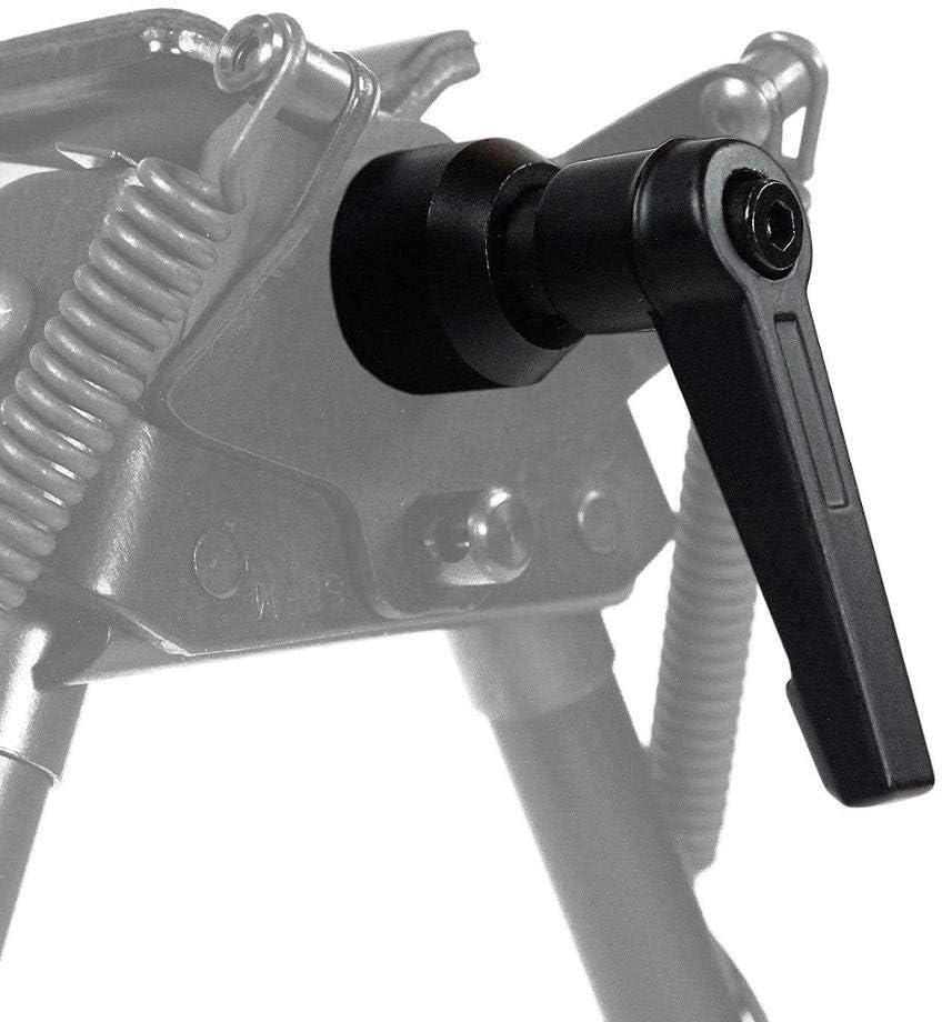 Lixia-JIAO, Táctico S Serie S-bípode cierre de trinquete pivote de la maneta de bloqueo Monte Negro Bípode adaptador en forma for el rifle de aire del rifle Herramienta Accesorios Pistola