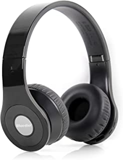 Bluedio Model B - Wireless and Bluetooth Stereo Headphones w/ FM Radio/ SD Cared (Black)