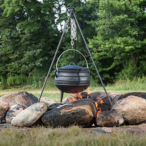 Cast Iron Campfire Kettle - 2 Gal
