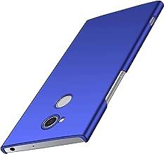 Sony Xperia XA2 Case, Almiao [Ultra-Thin] Minimalist Slim Protective Phone Case Back Cover for Sony Xperia XA2 (Smooth Blue)