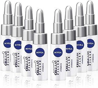 NIVEA Hyaluron Cellular Filler Tratamiento Concentrado 7 Días en pack de 8 (8 x 5 ml) tratamiento facial ampollas hidrat...