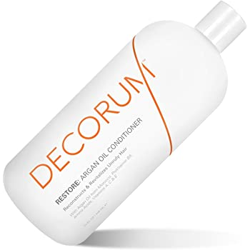 DECORUM Restore Argan Oil Conditioner, 32 Ounce