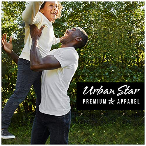 Urban Star Men's Jeans Relaxed Fit – Straight Leg Stretch Blue Jeans for Men 32W x 32L