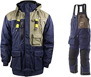 Frabill I4 Waterproof Insulated Jacket & Pant Suit Dark Blue (XX-Large 2X)