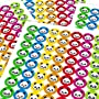 Chunky Hamster Panda Smiley Face Emoji, Reward Sticker Labels (70 Stickers @ 2.5cm)...