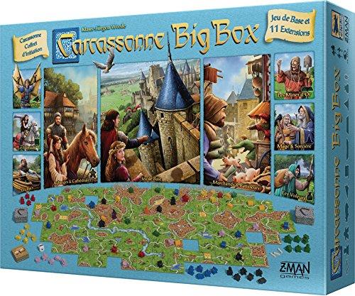 Carcassonne Big Box - Asmodee - Jeu de société - Jeu de tuil