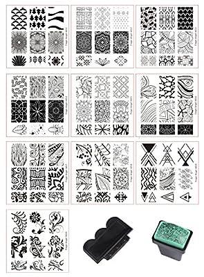 BeautyLeader Mix Designs Nail Plates