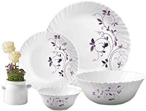 Laopala Dinnerware Set 38 Pcs, DAZZLE PURPLE