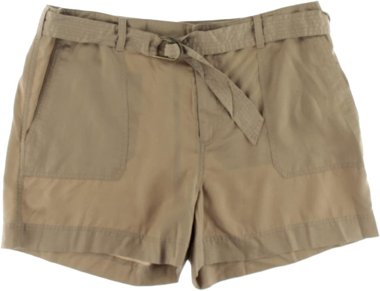 Ralph Lauren Womens Twill Casual Bermuda Shorts