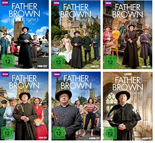 Father Brown - komplette Staffel 1-6 im Set - Deutsche Originalware [20 DVDs]