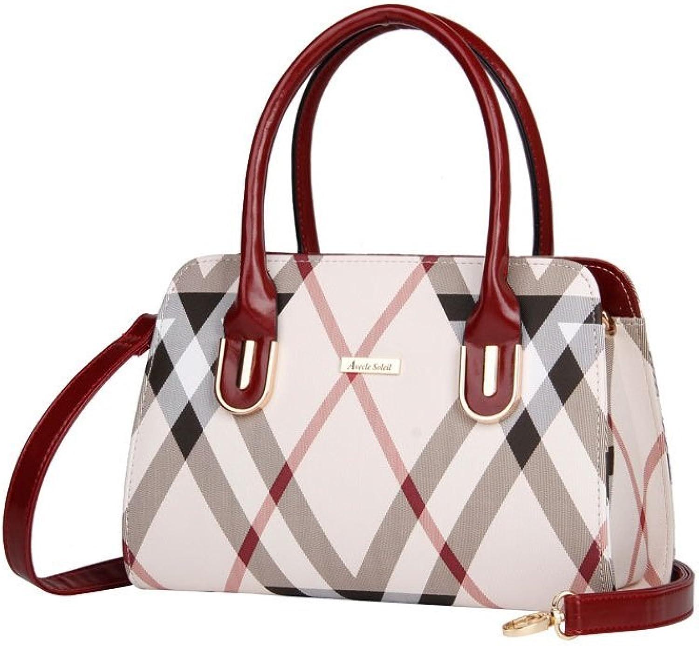 Woherren Large Shopper Stylish Stylish Stylish Leather Shoulder Handbag Shopper Bag PU Leather Handbag Leather Bag damen Bag Large Stylish For School Work B075472KCF  Internationale Wahl bad1ba