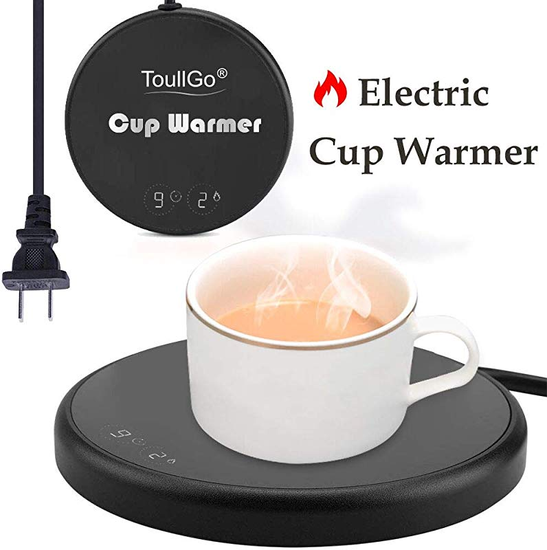 Coffee Mug Warmer Smart Coffee Warmer Electric Beverage Warmer Electric Beverage Warmer With Two Temperature Settings Best Gift Idea Office Home Use Electric Cup Beverage Plate Water Milk
