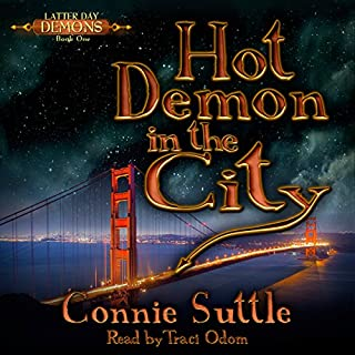 Hot Demon in the City audiobook cover art
