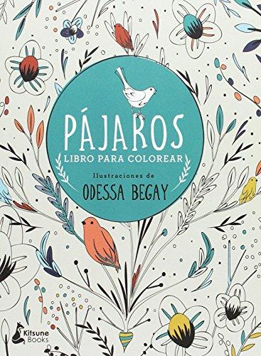 Pájaros: Libro para colorear Loros