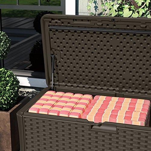 Suncast 130 Gallon Deck Box Best Deck Box