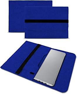 UC-Express Hoes compatibel met Lenovo ThinkPad T14 T14i T14s tas vilt notebook cover laptop case 14 inch, kleur: blauw