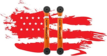 Jeep Wrangler TJ - LJ 1997-2006 Rear Upper Control Arms, Red LIFETIME REPLACEMENT GUARANTEE