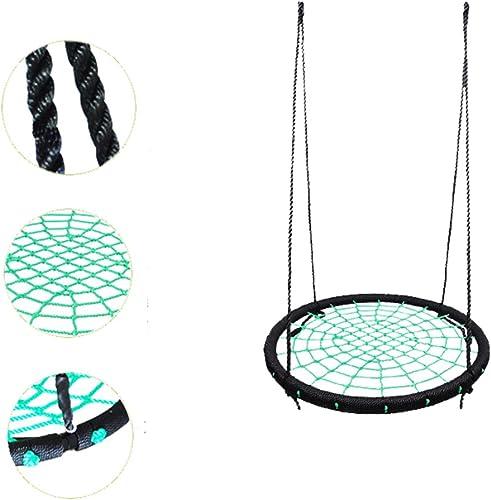 YJJ Enfants Nest Balancelle Hamac Pod détachable avec réglable Nylon-Rope pour Enfants et Adultes (41,7Kilogram)