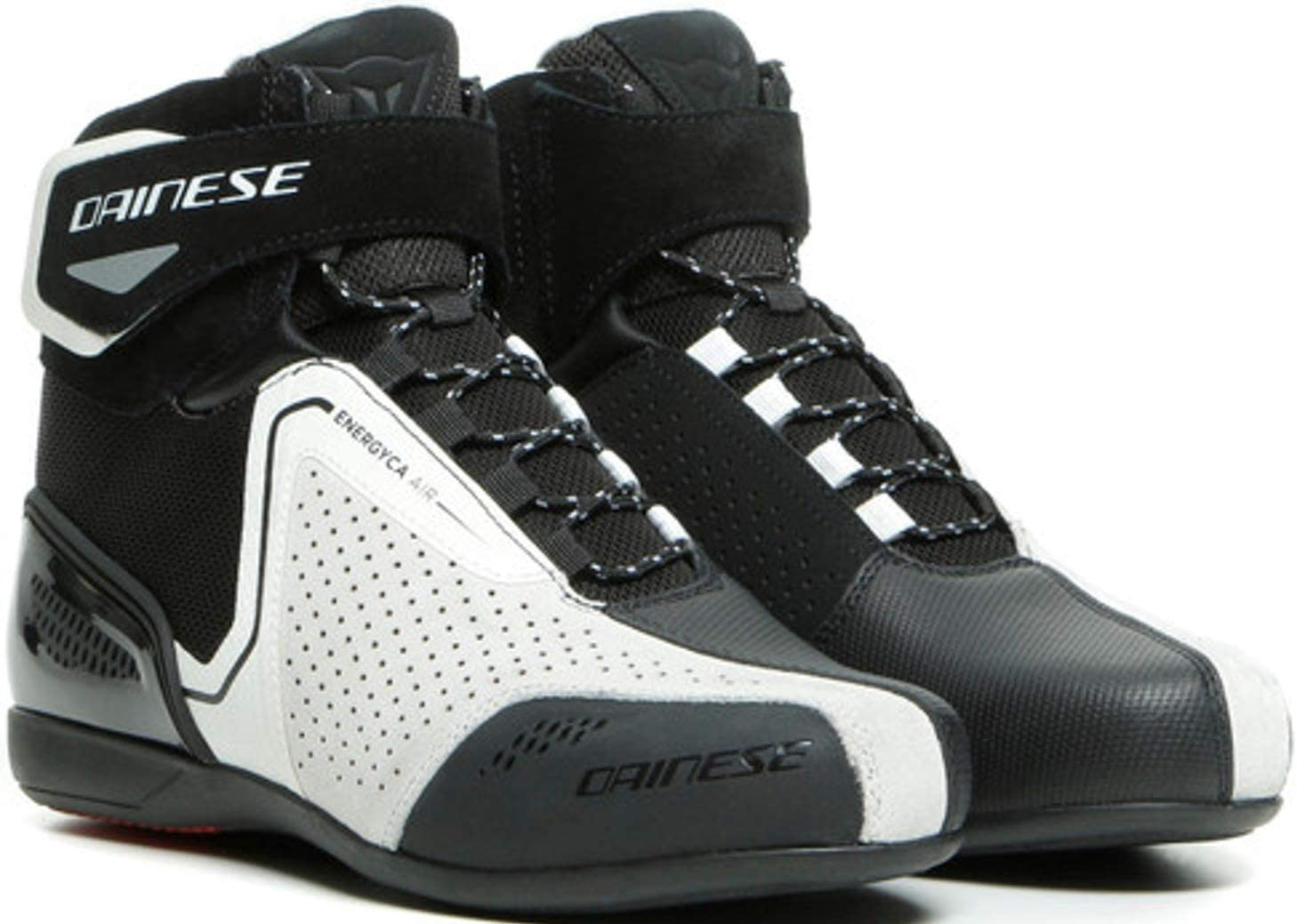 Dainese Sales of SALE items from new works Energyca Air Womens Leather Black Arlington Mall White Motorcycle Shoes