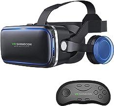 VR SHINECON Original 6.0 VR Headset Version Virtual Reality Glasses Stereo Headphones 3D Glasses Headset Helmets Support 4...