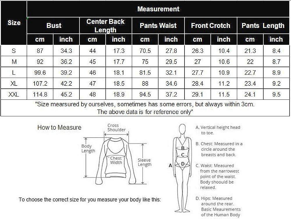 Ekouaer Pajamas Womens Sexy Lingerie Satin Sleepwear Cami Shorts Set Nightwear S-XXL