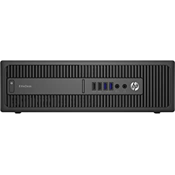 HP EliteDesk 800 G1 - Ordenador de sobremesa (Intel Core i5-4570, 16GB de RAM, Disco HDD de 500GB, Lector DVD, Windows 10 Pro ES 64) - Negro (Reacondicionado)