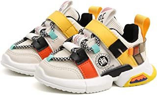 Baby Girl Boy Mesh Breathable Yeezy Velcro Sneakers Kid Casual Fashion Walking Running Nonslip Sport Shoes