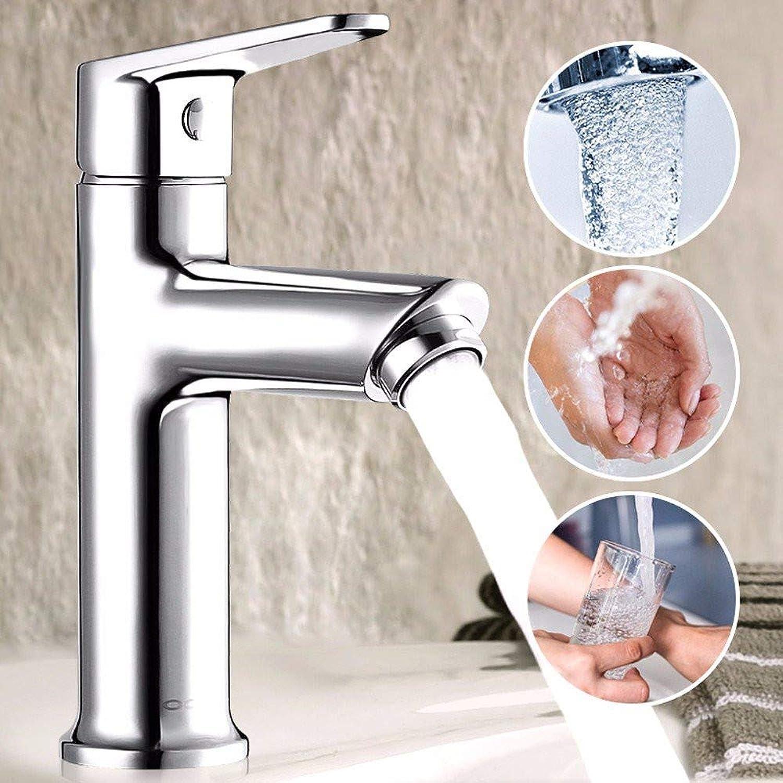 Hahn, 360 ° drehbarer Hahn Retro Faucetbasin Hahn-Bassin Toilette Badezimmer Warm und Kalt Feine Copper Heizung und Waschtisch Basin Wasserhahn.