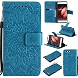 KKEIKO Huawei P10 Case, Huawei P10 Flip Leather Case,