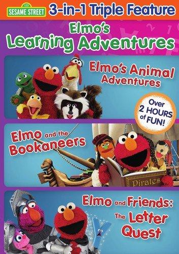 Sesame Street: Elmo's Learning Adventures (Elmo's Animal Adventures / Elmo and the Bookaneers / Elmo and Friends: The Letter Quest)
