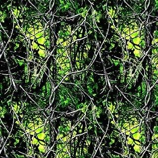 Country Snuggles Muddy Girl Green Camoflauge Fabric by The Yard (Full Yard)