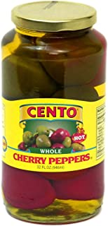 Cento - Whole Cherry Peppers, (2)- 32 oz. Jars