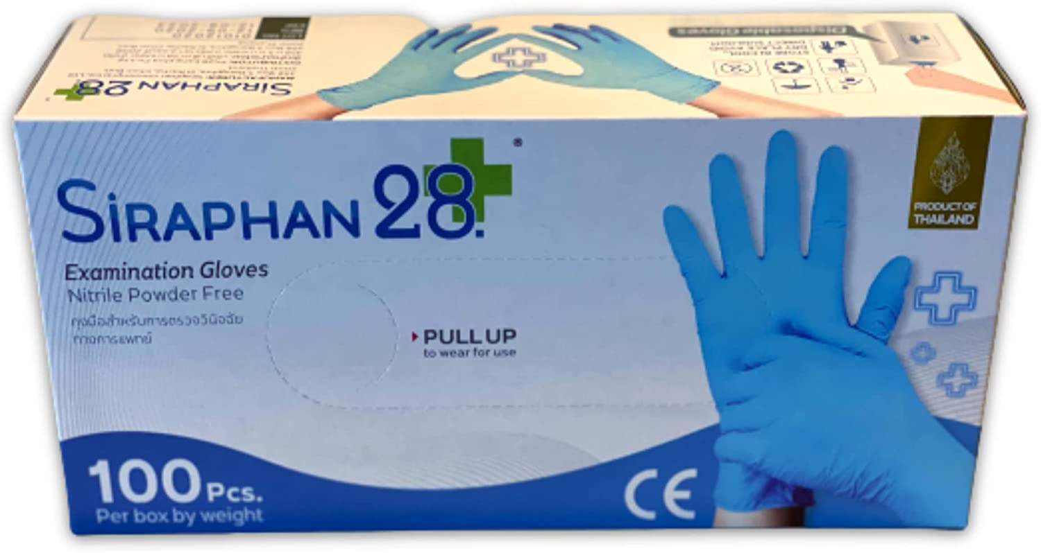 Year-end annual account Nitrile Exam Gloves Import