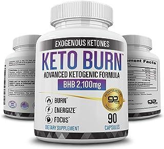Best Keto Pills - 3X Dose (2100mg   90 Capsules) Advanced Keto Burn Diet Pills - Best Exogenous Ketones BHB Supplement - Max Strength Formula Review