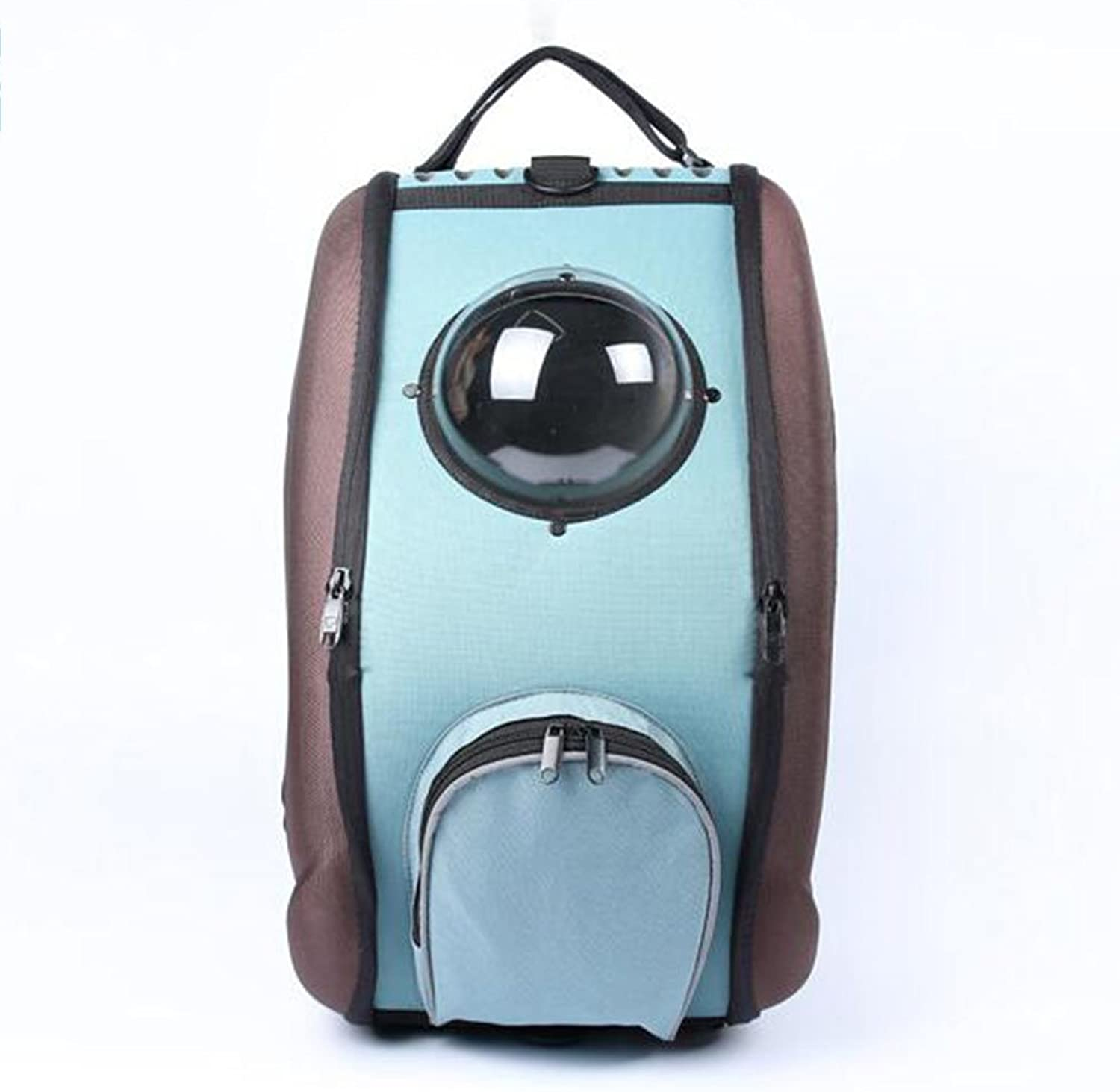 Astronaut Rolling Pet Carrier Foldable Travel Bag Breathable Home Outdoor Water